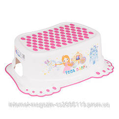 Подножка Tega Little Princess LP-006 антискользящая  белая
