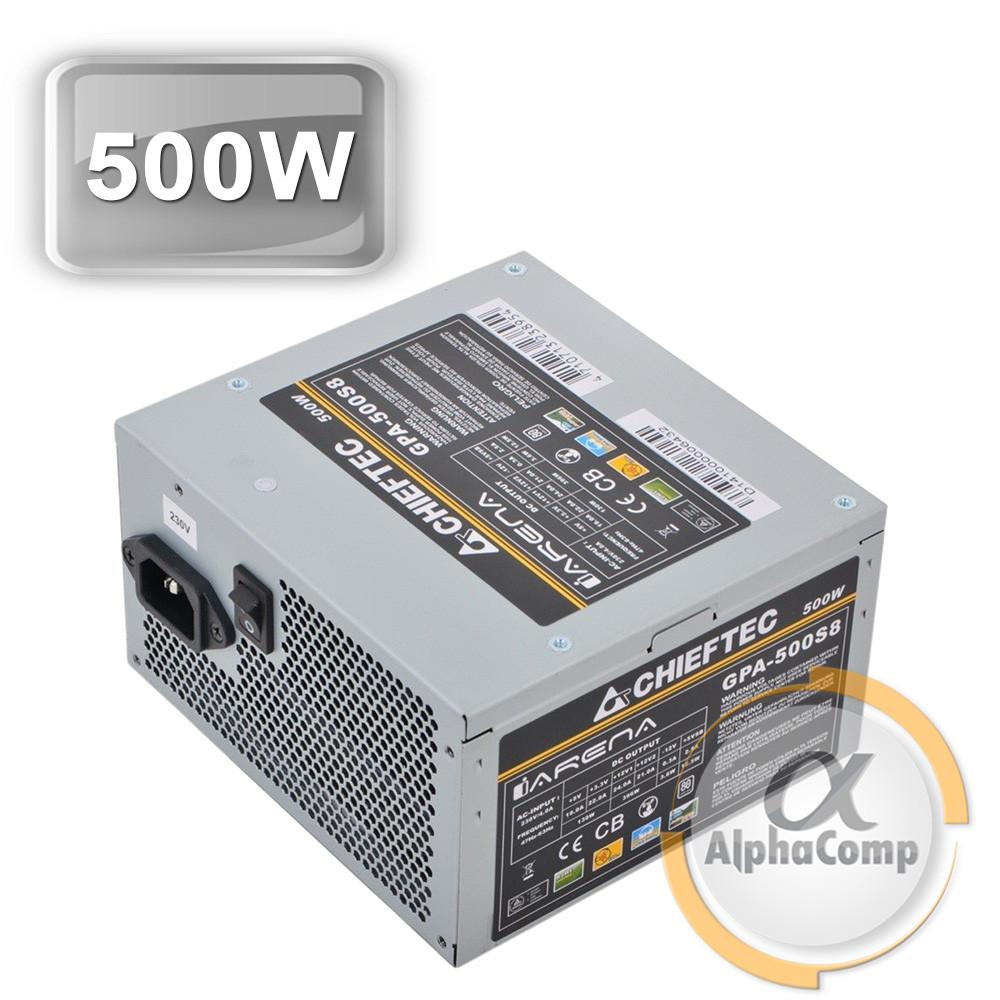 Блок питания 500W Chieftec GPA-500S8 БУ
