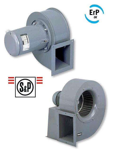 Вентиляторы центробежные Soler&Palau серии CMB/CMT