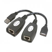USB удлинитель по RJ45 витой паре до 50м