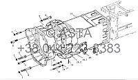 Трансмиссия на YTO-X754