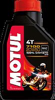 Масло мотоциклетное синтетика Motul 7100 4T 20W50, 1л
