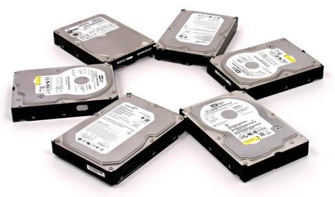 Жёсткие диски - HDD