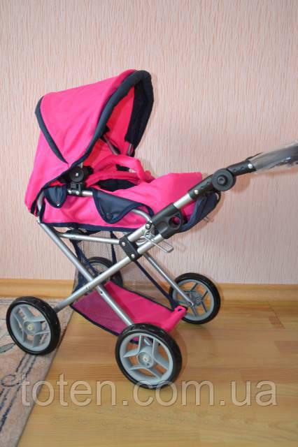Детская коляска для кукол Мелого Melogo 9346. 2 расцветки., фото 2