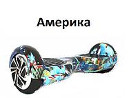 """Гироборд (Гироскутер) 6.5"""" P Smart №16 Америка (Самобаланс, Tao-Tao)"""