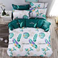 Детский комплект постельного белья полуторный  (уценка,дефекты) Green Leaves  Berni