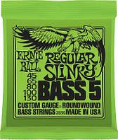 Струны для бас-гитары Ernie Ball 2836 Regular Slinky 45-130