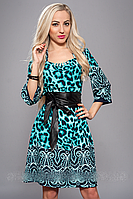Стильное женское платье 618-6 (А.Н.Г.) размер 52