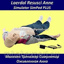 Учебный Манекен Тренажер Оживленная Анна Симулятор LaerdalResusci Anne Simulator SimPad PLUS