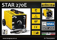 Сварочный аппарат - трансформатор 220/380В, 30-200А., DECA STAR 270E