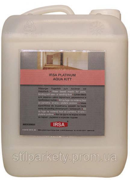 Шпаклевка Irsa Platinum Aqua Kitt на водной основе, пр-во Германия
