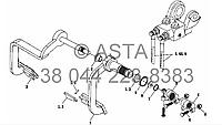 Стояночный тормоз - механизм контроля на YTO X754