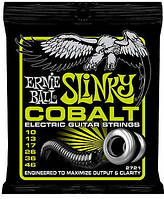 Струны для электрогитары Ernie Ball 2721 Slinky Cobalt Electric Guitar Strings 10-46