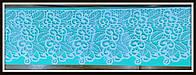 Мат для Айсинга (коврик) Бордюры цветочные