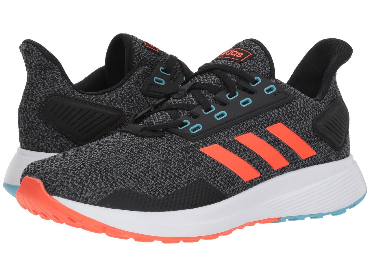 63104983cd2c Кроссовки Кеды (Оригинал) adidas Running Duramo 9 Black Solar Red Grey