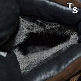 Черевики Sr-4U коричневі утеплені, фото 8