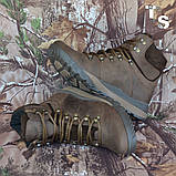 Черевики Sr-4U коричневі утеплені, фото 6