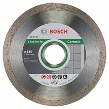 Алмазний відрізний круг Standard for Ceramic 115мм BOSCH