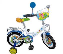 """Детский двухколесный велосипед Profi 12"""" мульт"""