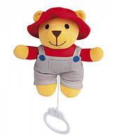 Музыкальная игрушка плюшевая Мишка - 2/407, Canpol babies, мишка, фермер (2/407-1)
