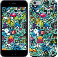 """Чехол на iPhone 6s Стикер бомбинг 1 """"693c-90-571"""""""