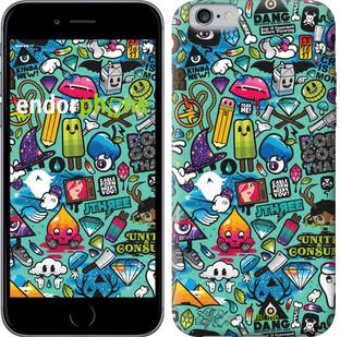 """Чехол на iPhone 6 Стикер бомбинг 1 """"693c-45-571"""""""