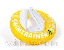 Круг надувной детский SWIMTRAINER желтый для безопасного обучения детей плаванию (4 - 8 лет)