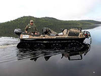 Вездеход 8х8 Арго  для рыбалки