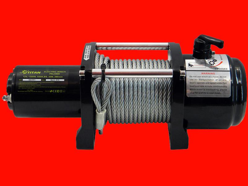 Автомобильная электрическая лебёдка Титан PAL5500