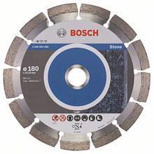 Алмазний відрізний круг Standard for Stone 180 мм BOSCH