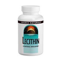 Лецитин 1200 мг 200 капс для нервной системы мозга  печени  снижение холестерина   Source Naturals