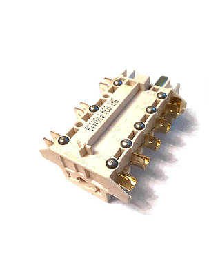 Переключатель 7-ми позиционный ПМ 034 для электроплит Италия, фото 2