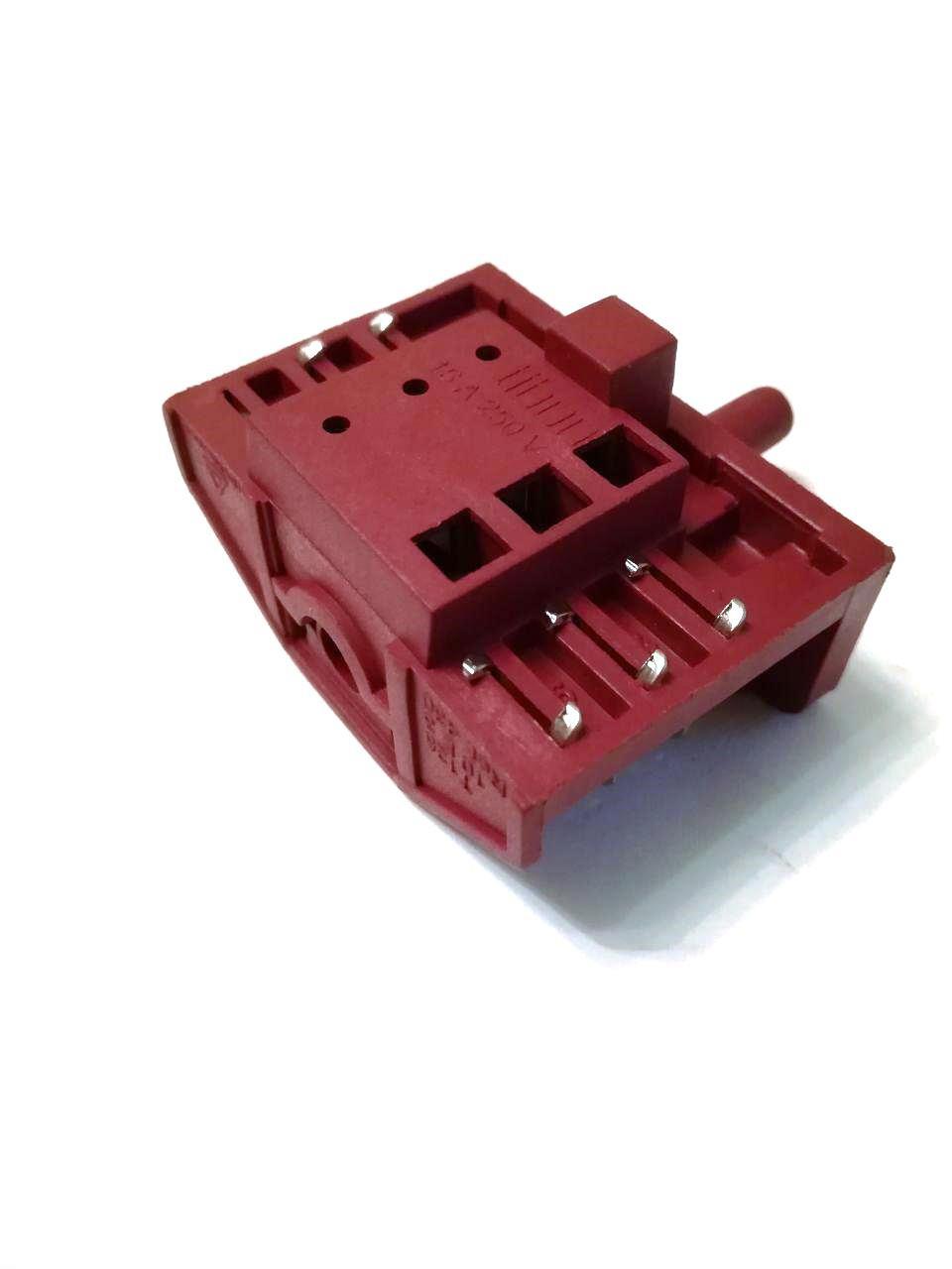 Переключатель 5-ти позиционный Tibon 430 / 250V / 16A / T125 для электроплит и духовок / Турция
