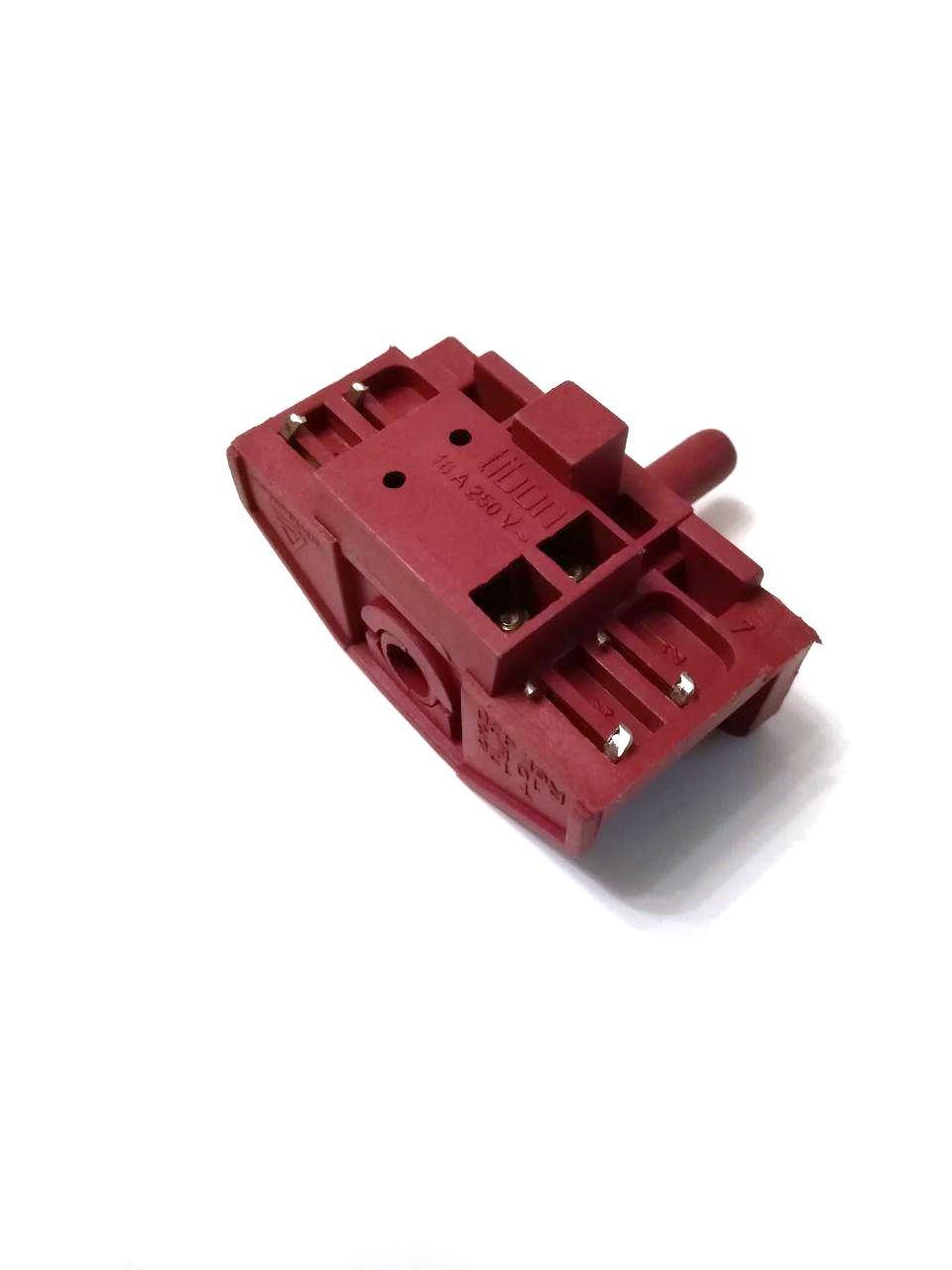 Переключатель 4-x позиционный Tibon 420 / 250V / 16A / T125 для электроплит и духовок / Турция