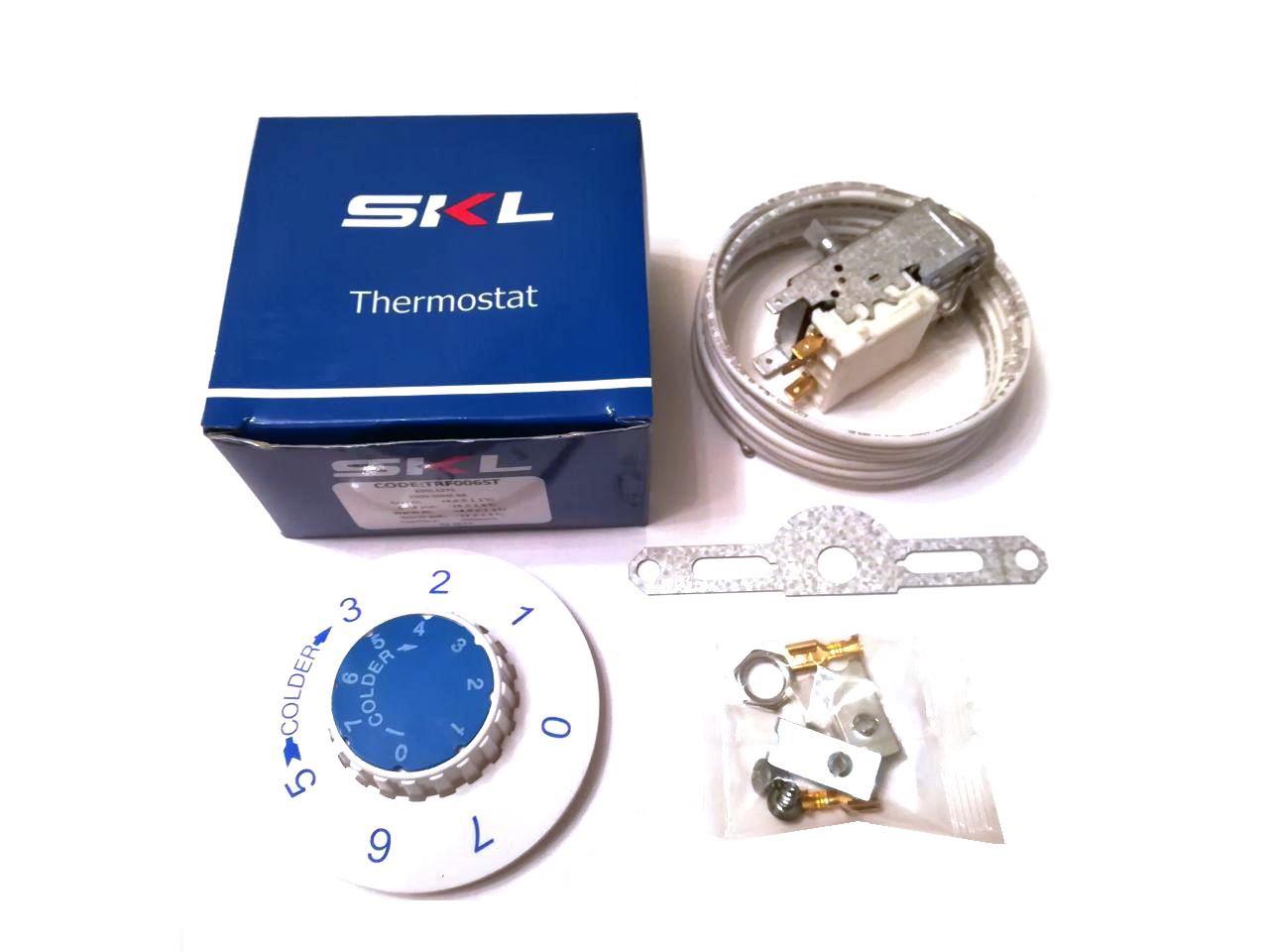 Термостат капиллярный универсальный SKL / K-59-L1275 / 250V / 6A / для двухкамерных холодильников