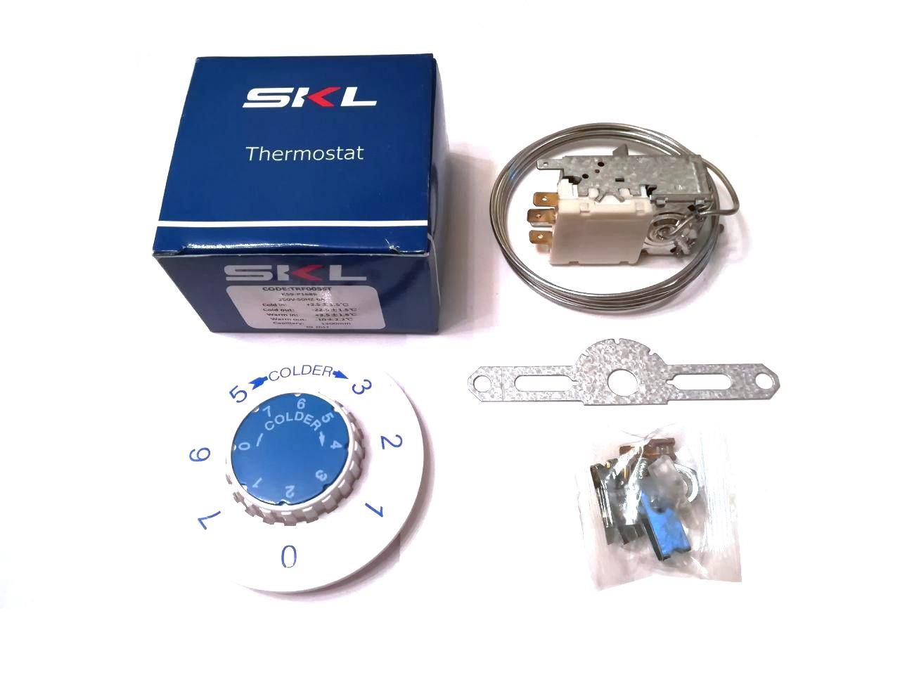 Термостат капиллярный универсальный SKL / K-59-P1686 / 250V / 6A / для двухкамерных холодильников