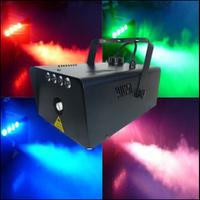 Димогенератор зі світлодіодним підсвічуванням струменя FOGLED900W