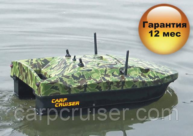 Карповый кораблик CarpCruiser Boat CF9-CWL с эхолотом Lucky FF918-CWL для рыбалки, завоза прикормки