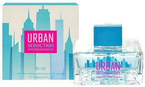 Женская туалетная вода Antonio Banderas Urban Seduction Blue for Women (100 мл)