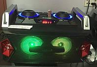 Портативный бумбокс караоке Ailiang UF-1505ED-DT сабвуфер USB\ Bluetooth\ FM-тюнер\ Пульт ДУ ( Реплика )