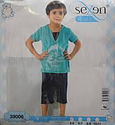 Пижама футболка + бриджи для мальчиков SEXEN 39006