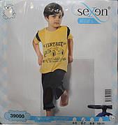 Пижама футболка + бриджи для мальчиков SEXEN 39000
