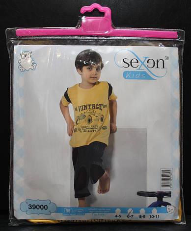 Пижама футболка + бриджи для мальчиков SEXEN 39000, фото 2