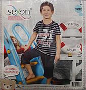 Пижама футболка + бриджи для мальчиков SEXEN 39062