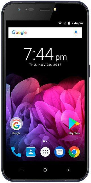 """Смартфон Assistant AS 502 Shot 1/8Gb Dark blue, 13+0.3/5Мп, 5"""" IPS, 2500mAh, 2sim, MT6580, 3G, 4 ядра, 12 мес."""