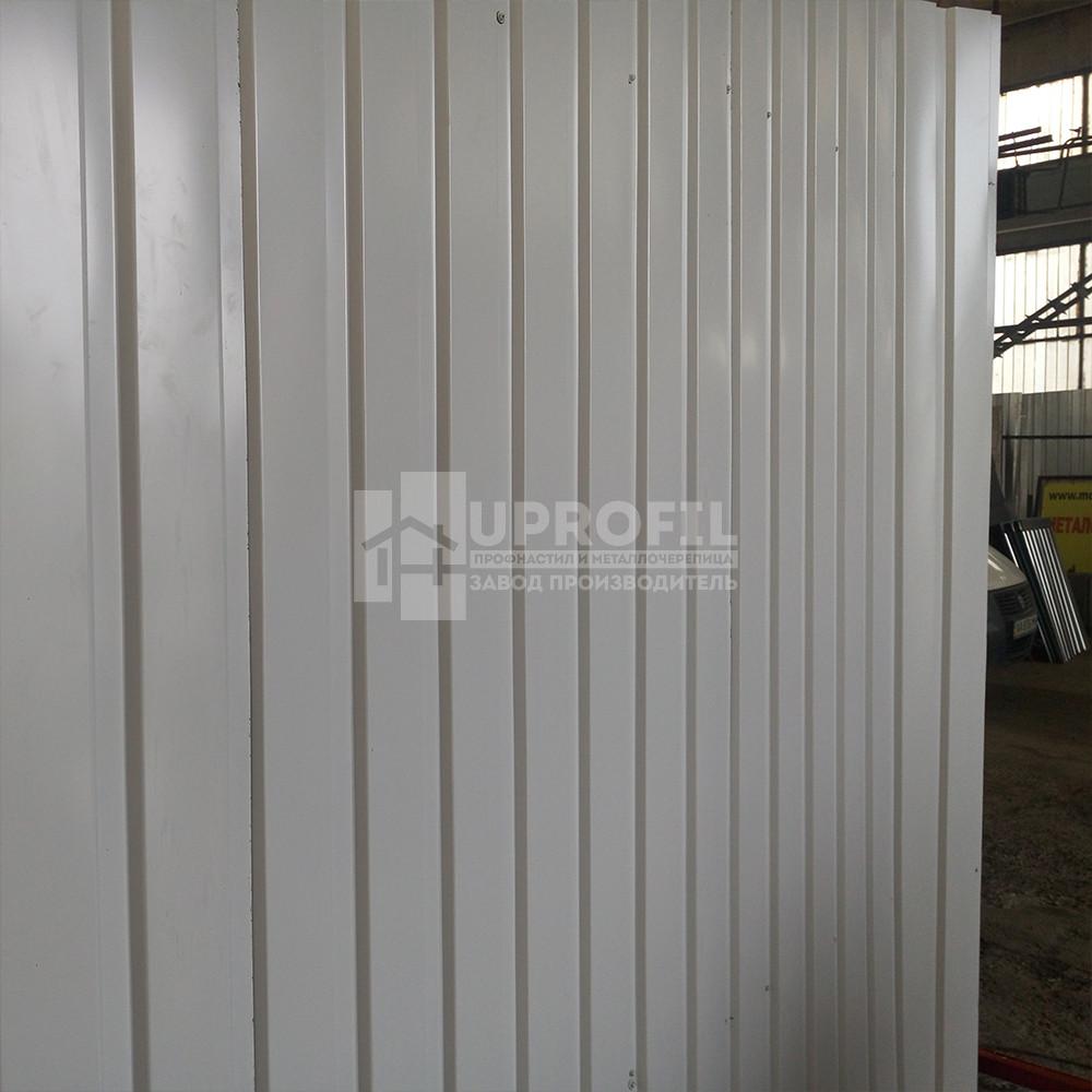 Профнастил стеновой ПС10 для забора Серый RAL 7004 глянец 0.40 мм.