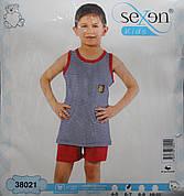 Летняя пижама майка с шортами для мальчиков SEXEN 38021