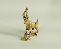 Новогодний сувенир бронзовая статуэтка Коза