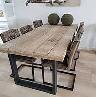 Обеденный стол Loft-8
