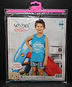 Летняя пижама майка с шортами для мальчиков SEXEN 38089